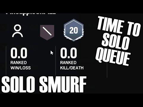 Solo Smurf: A New Start - Rainbow Six Siege (White Noise)