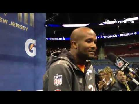 Champ Bailey on former teammate Irving Fryar