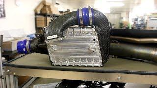 Formula 1 Intercooler and Wastegate in detail (Ferrari)