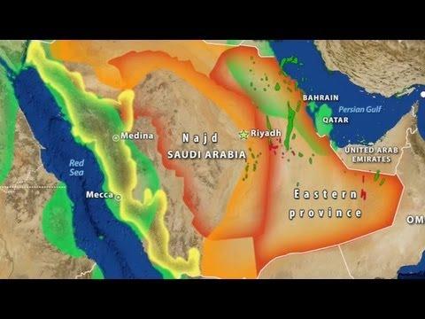 Saudi Arabia's Geographic Challenge
