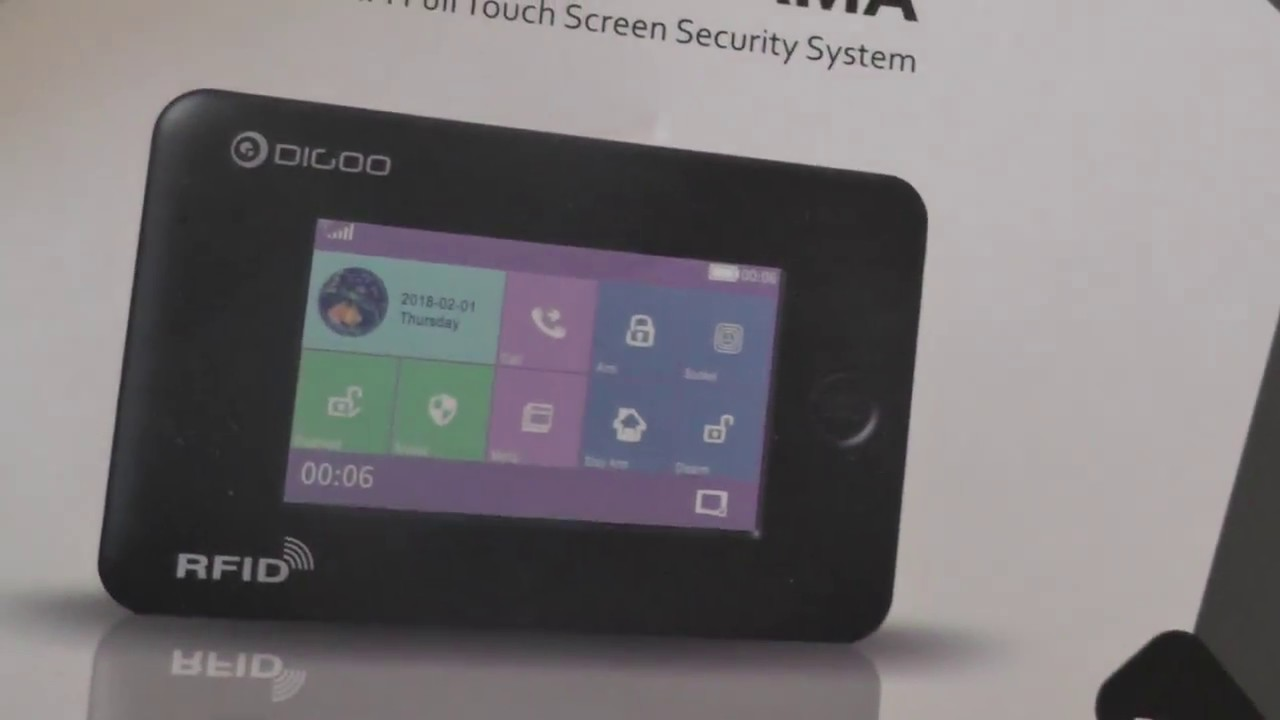 Digoo 2018 Gsm Wifi Smart Home Security Alarm System Kits 1 2 Wiring A Burglar