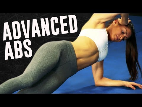 Advanced Ab Workout Routine at Home (HARDER Abs - NO Weight!)