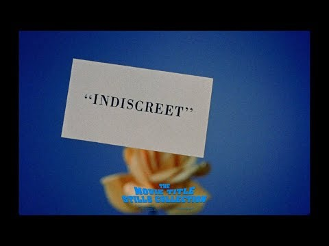 Indiscreet (1958) title sequence