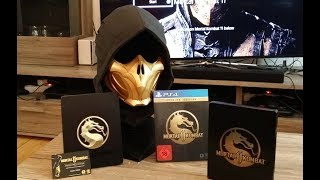 Mortal Kombat 11 PS4 Kollector's Edition Unboxing and First Impressions
