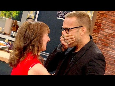 Bob Harper Gets a Massive, Emotional Surprise | The Rachael Ray Show