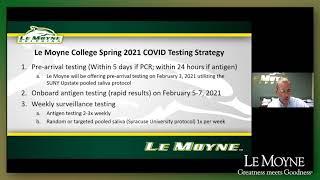 Lemoyne Academic Calendar 2021 Coronavirus (COVID 19) Information
