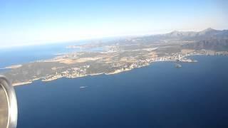 Mallorca wunderschöner Landeanflug 2012 Teil 5