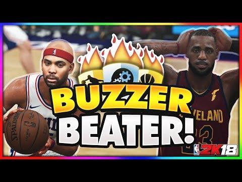 NBA 2K18 MyCAREER - SHOT CLOCK CHEESE! Buzzer Beater vs LeBron James Ep. 10 (PS4 Pro Gameplay)