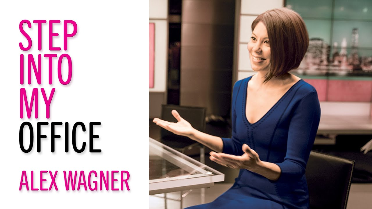 Career Advice From News Anchor Alex Wagner – Glamour's Step into My Office – Career Tips