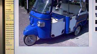VESPA PIAGGIO APE CALESSINO tuk tuk 2008 for sale