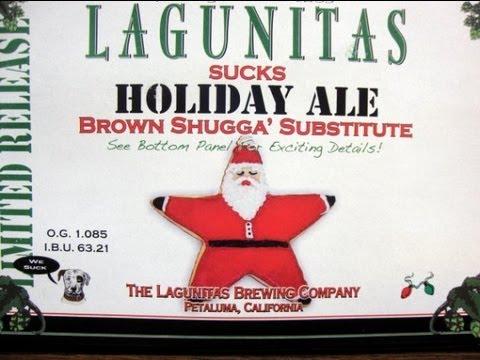 Lagunitas Sucks Holiday Ale   Beer Geek Nation Beer Reviews Episode 275