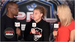 Kayla Harrison talks disappointing win vs. Larissa Pacheco by decision | PFL | ESPN MMA