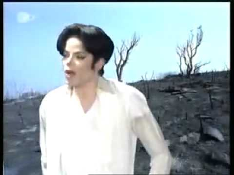 Michael Jackson -Earth Song (Wetten Dass 1995)