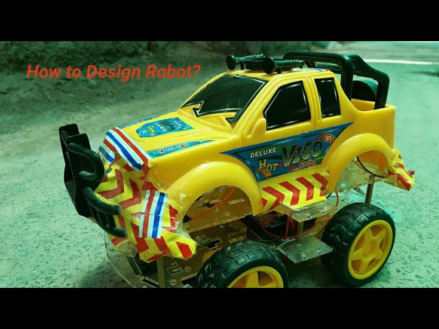 Robot Car || Fighting Robot || Automatic Car || Car Student Project  supervised by #HammadShahab