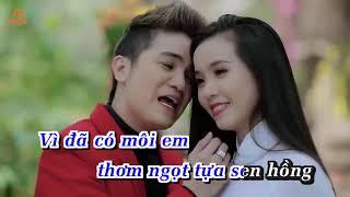 [Karaoke HD] Bài Ca Tết Cho Em - Khưu Huy Vũ ✔