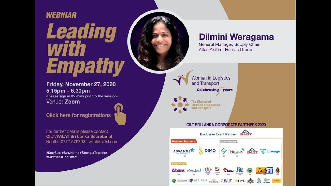 "WiLAT Sri Lanka Webinar ""Leading with Empathy"""