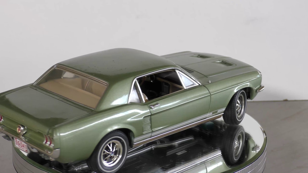 118 scale diecast model ford 1967 mustang