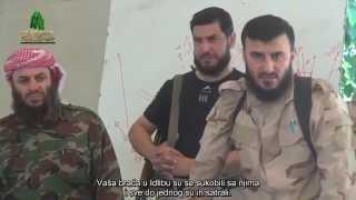 Zahran Aluš uoči bitke za oslobađanje naselja Meda od haridžijske skupine IDIŠ-a زهران عبدالله علوش