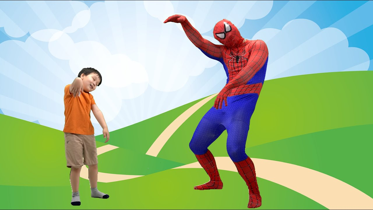 스파이더맨이랑 체조해요 | 키가 쑥쑥 마음도 쑥쑥 튼튼체조 | Kids Workout With Spider man