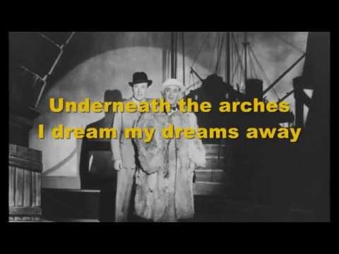 Underneath The Arches - Music & Lyrics (karaoke)