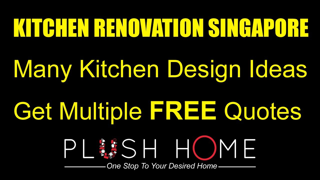 kitchen renovation singapore & kitchen designs ideas - youtube