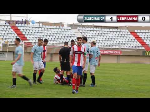 FÚTBOL ALGECIRAS CF 1 LEBRIJANA 0