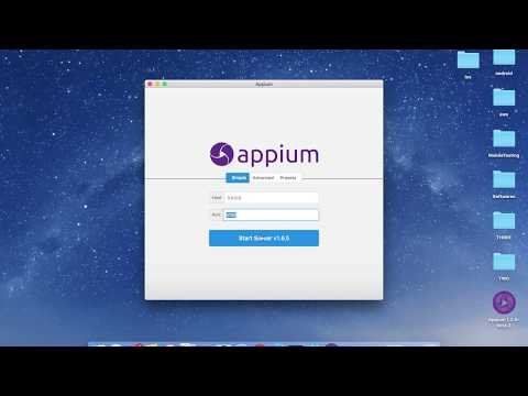 Appium Python Tutorial - Appium Desktop Setup For IOS With Desired Capabilities