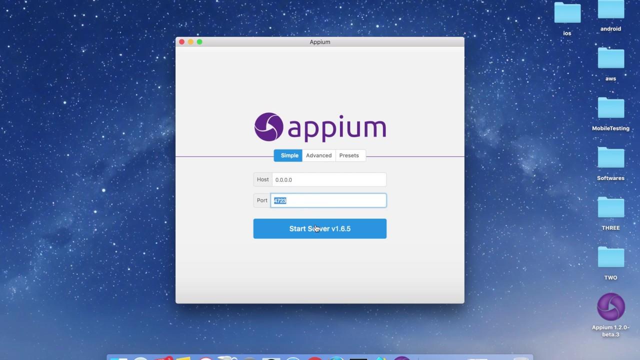 [Appium Tutorial] Appium Desktop Setup for iOS with Desired Capabilities