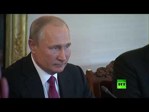 رئيس فنلندا يستقبل بوتين باللغة الروسية  - 17:54-2019 / 8 / 21