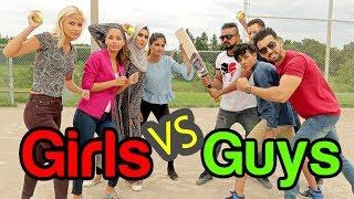GUYS vs GIRLS CRICKET MATCH