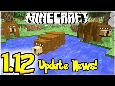 Minecraft 1 12 Update News Amp Suggestions Bears