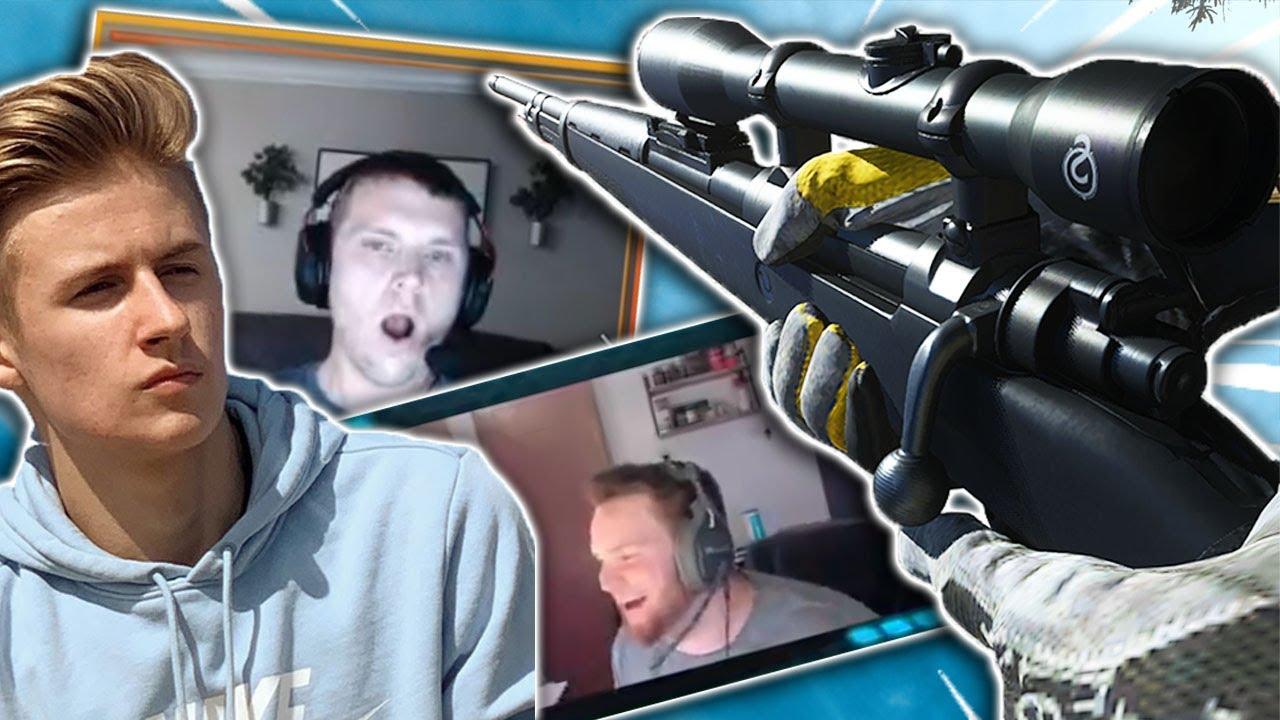 Killing Twitch streamers on Warzone (they weren't happy LOL)