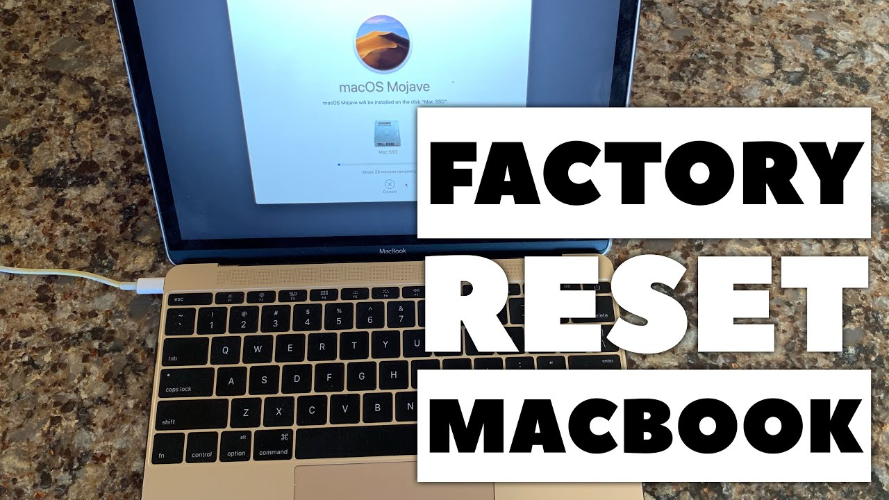 How to Reset a Macbook to Factory Settings - YouTube