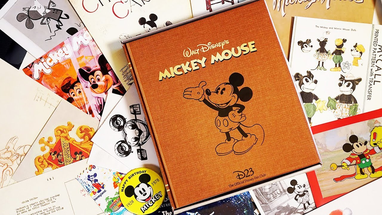 D23 Gold Member 2018 Gift Unboxing Celebrating Mickey Mouse 23