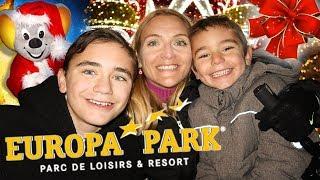 VLOG - EUROPA PARK : Meilleur Parc d'Attractions du Monde ! - Partie 1/3