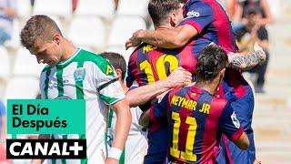 El Día Después (04/05/2015): Goleada del Barcelona en Córdoba