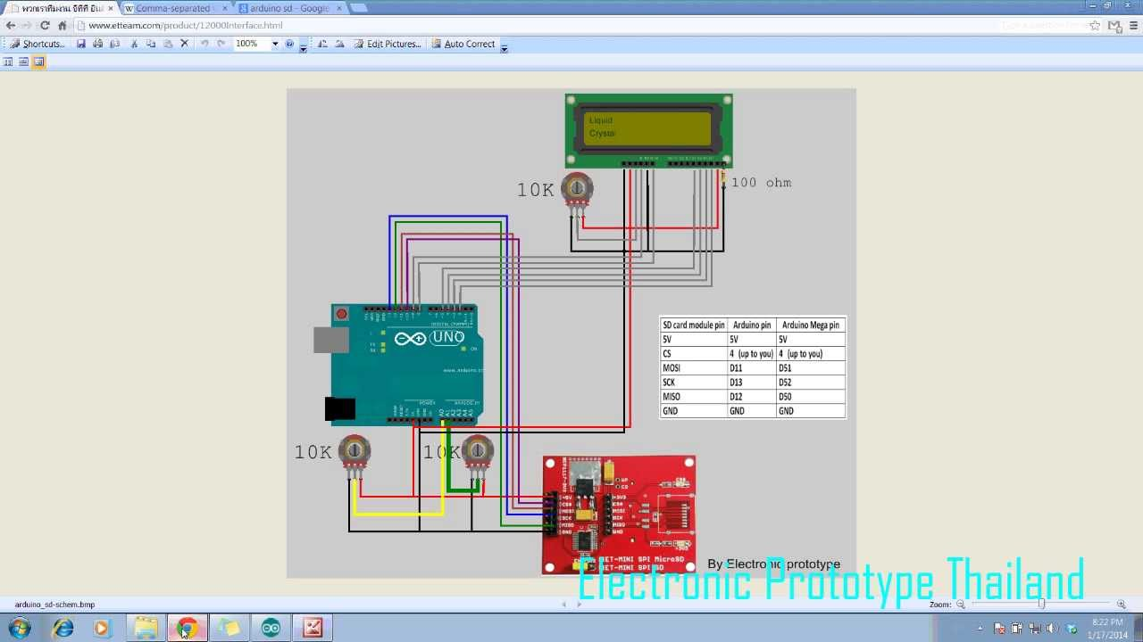 Ept arduino with sd card excel datalogger youtube pooptronica Choice Image