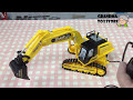 Unboxing TOYS Review/Demos - Big Remote Control real Dirt digging Crane Construction engineering