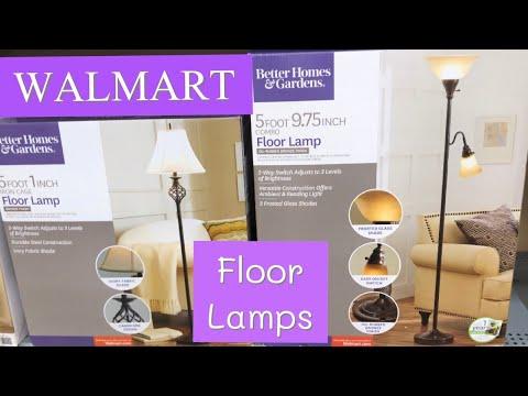 FLOOR LAMPS TABLE LAMPS IN WALMART