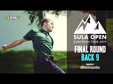 Sula Open 2019 MPO Lead Card Final Round Back 9