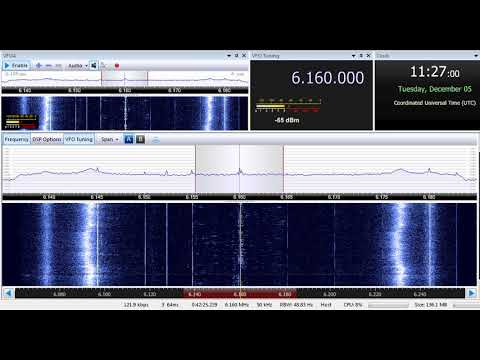05 12 2017 New Shortwave Radio for Europe in English to NWEu 1126 on 6160 Winsen