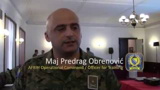 EUFOR and AFBIH Capacity Building and Training Assessment Conference