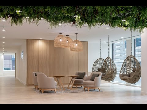A Tour Of Office Space In Town's New Office Fit-out