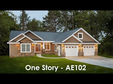 Ranch AE102 Tour by Dickinson Homes