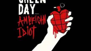 Song of the day green day holiday/boulevard of broken dreams