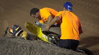 Superfinal Open (Crashes/Falls) - II Dirt Track Agramunt 2015(UHD/4K)
