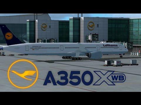Airbus A350XWB Review -FSX [HD] by Haris Malik