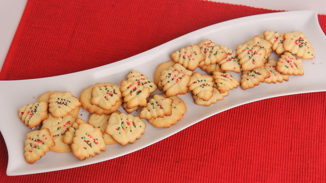 Christmas Spritz Cookies Recipe