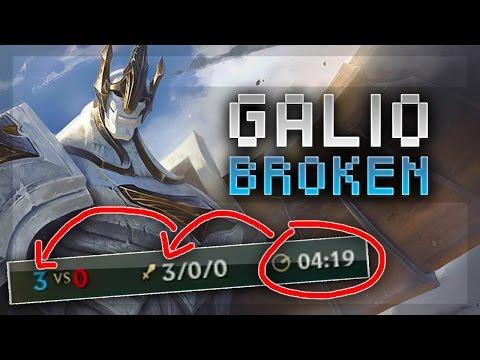HOW BROKEN IS REWORKED GALIO? - League of Legends