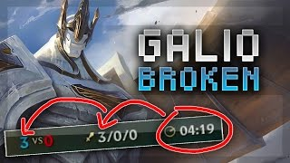 HOW BROKEN IS REWORKED GALIO? - League of Legends